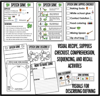 Speech Slime! Make Slime and work on Goals! by Panda