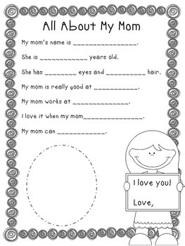Speech and Language Mother's Day FREEBIE! by