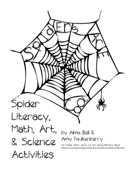 Spider Literacy, Math, Art & Science Activities for 1st or