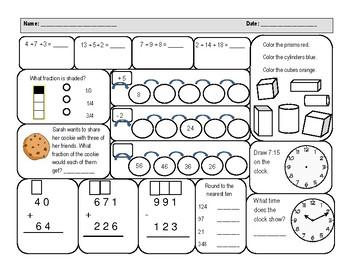 D57 Math Worksheet Grade 6. D57. Best Free Printable