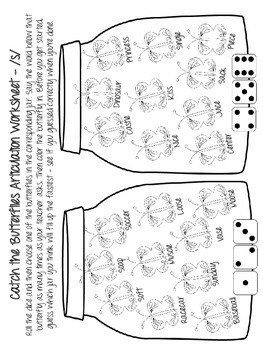 Spring Articulation NO PREP Speech Therapy Activities by