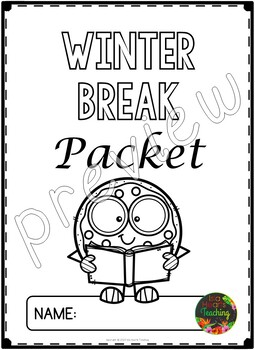 Winter Break: Second Grade Winter Break Packet by Isla
