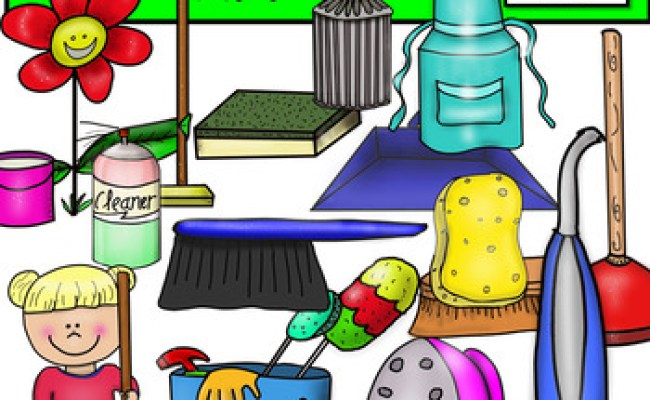 Spring Cleaning Clip Art By Fun Creatives Teachers Pay