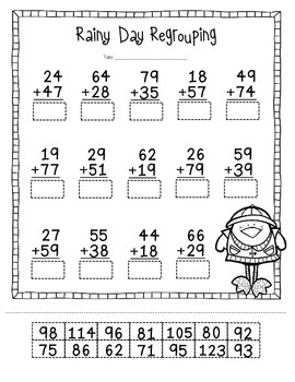 Spring Common Core Math Pack: 2nd Grade by The Creative