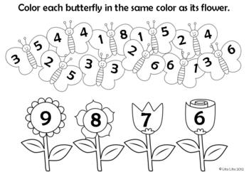 Spring Fast Finishers Worksheets English and Spanish by