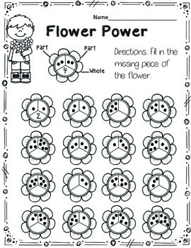 Spring Kindergarten Math & Literacy Activities (Common