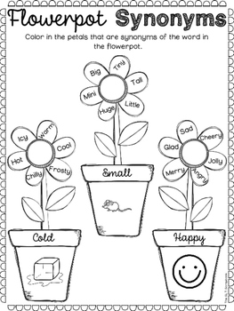 Spring Language Activities Pack- for Speech Therapy, EAL