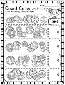 Spring Math & Literacy Printables [Print n Go] 2nd grade