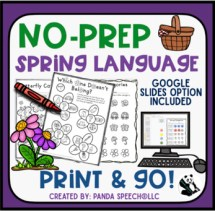 Spring NO PREP Language Pack