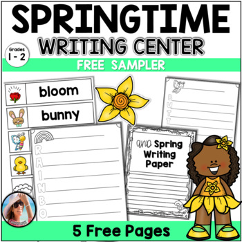 Spring Writing Activities   Spring Writing Center Free