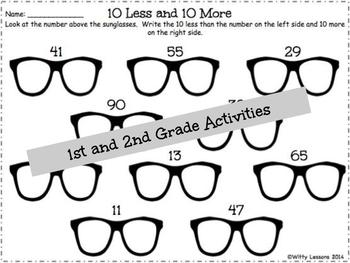 Spring and Summer Packet: 1st and 2nd Grade by Witty