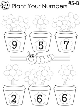 Spring into Math for First and Second Graders by Little