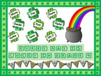 St. Patrick's Day Themed March Bulletin Board by My Basset ...