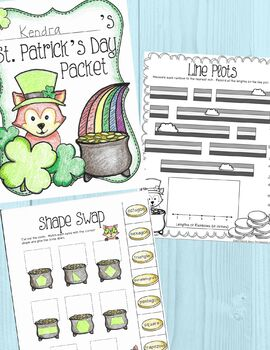 St. Patrick's Day Activities Packet for 2nd Grade by The