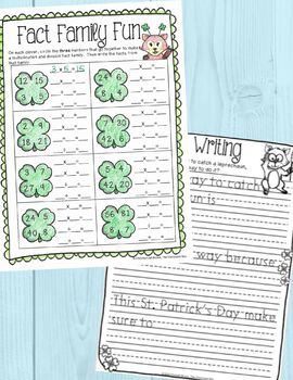 St. Patrick's Day Activities Packet for 3rd Grade by The