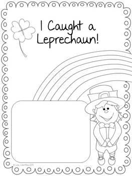 St. Patrick's Day Narrative Writing Freebie ~ I Caught a