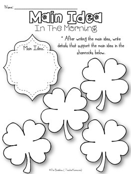 St. Patrick's Day in the Morning Book KIT by Eve Bunting