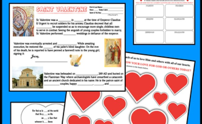 St Valentine S Day Bundle By Catholic Religion Teacher