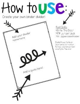 Staff Binder for Whole School or Leadership Teams by Julie