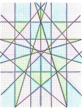 Stained Glass Slope Graphing Linear Equations In Slope