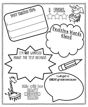 {Standardized} Test-Taking Poster For Kids by Kids and