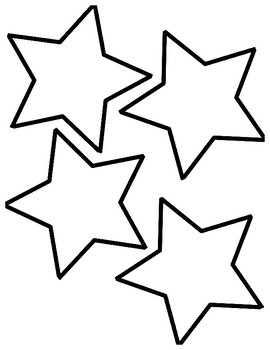 Star Outlines by Finding Organization And Fun in the