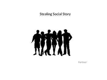 Stealing Social Story PowerPoint by Visual Representation