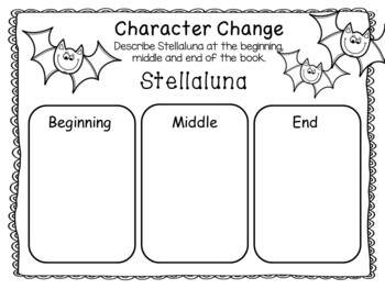 Stellaluna ~ 30 pages of Common Core Activities by Fun to