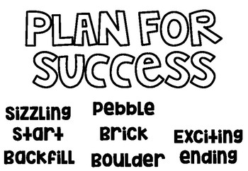 Step One: Plan For Success *7 STEPS WRITING* by Mrs Osborn