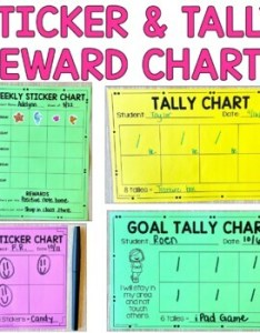 Sticker charts blank and goal editable also by brooke rh teacherspayteachers