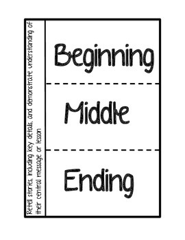 Story Elements Interactive Notebook pages by Mrs Prices