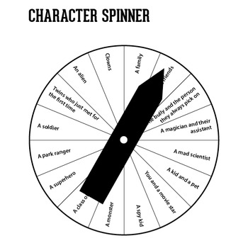 Story Spinners (Creative Writing Prompts) by