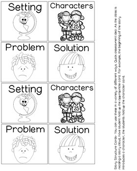 Story Structure {Posters and Graphic Organizers} by