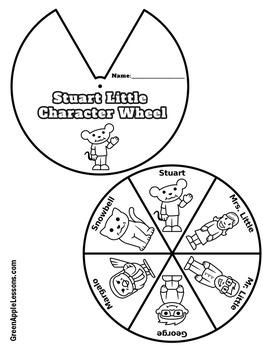 Stuart Little Novel Study Activity by Green Apple Lessons