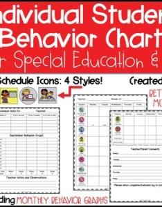 Inidual student behavior chart  graph special education rti documentation also on task teaching resources teachers pay rh teacherspayteachers
