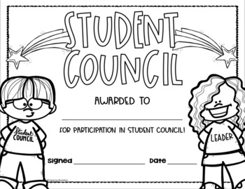 Student Council Leadership Government End of the Year