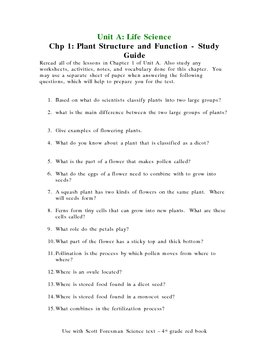 Study Guides For Scott Fore By Terri Coffee