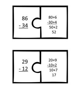 Subtraction Strategies (Two and Three-Digit) Common Core