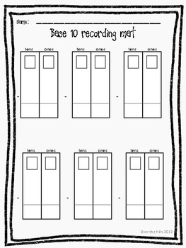 Subtraction with Regrouping {Numbers to 1000--2nd Grade