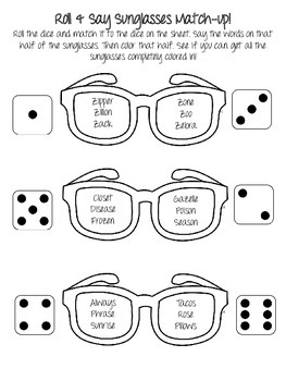 Summer Articulation NO PREP Speech Therapy Activities by
