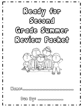 First Grade Summer Review Packet (Entering Second Graders