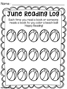 Summer Reading and Writing Pack for Preschool, Pre-K, and