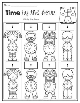 Summer Math & Literacy Printables {1st Grade} by Searching