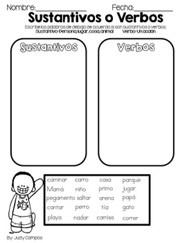 Summer Packet For First Graders *ALL SPANISH* by The Busy