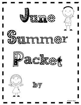 Summer Packet Fun (Month by Month) by Donna Glynn