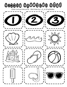 Summer Review Packet {Kindergarten Math & Literacy} by