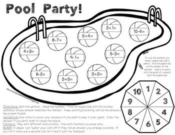 Summer Send Off! Summer Learning Packet of Games
