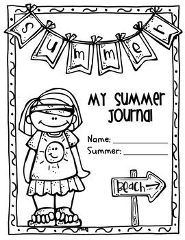 Summer Writing & Handwriting Packet, Kindergarten & First