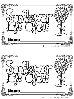 Sunflower Life Cycle (A Sight Word Emergent Reader, 2