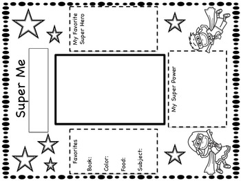 Super Hero Classroom Theme Resource Pack by My Life At The